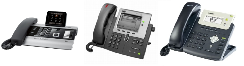 Small Business VoIP Telephone System Handsets
