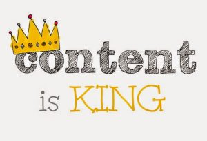 Content is king marketing for tradespeople